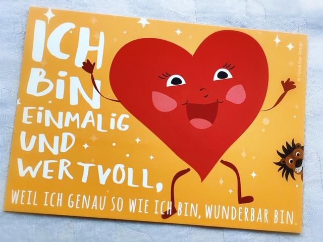 Vera-Heiduk-Loewenstark-Postkarte