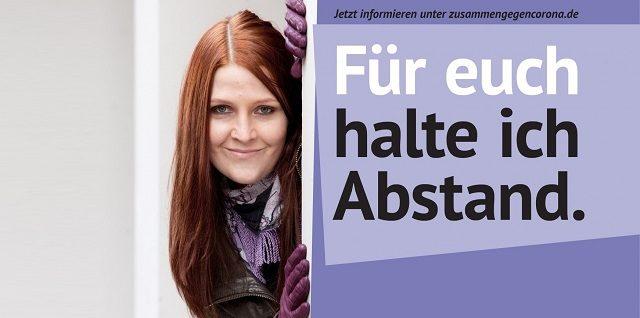 Postkarte-WolkeLila