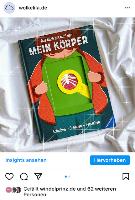 Instagram-Posting-Buchrezension
