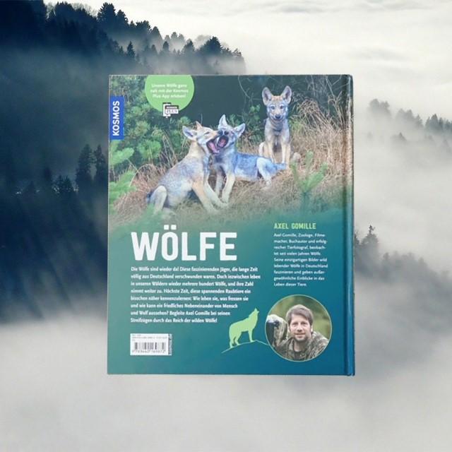 Wölfe von Axel Gomille (Buchrueckseite)